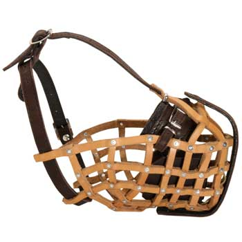 Basket Dog Muzzle for Military and Police Work
